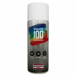AREXONS SMALTO 100% ACRILICO SPRAY BIANCO OPACO 400 ML
