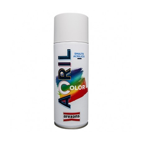 AREXONS ACRILCOLOR SMALTO ACRILICO SPRAY 3931RAL9010 BIANCO 400ML