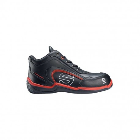 SPARCO S3 SPORT HIGH SCARPE ANTINFORTUNISTICHE NERO