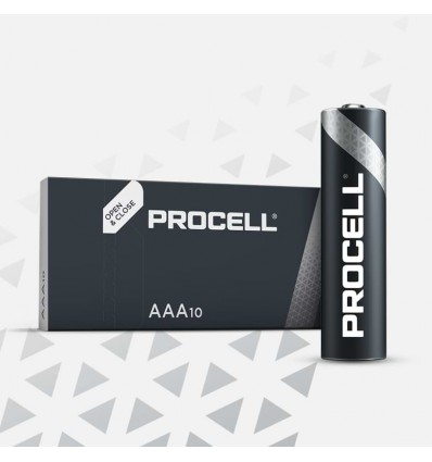 DURACELL PROCELL MINISTILO AAA 10pz